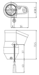 2号型プルソケット 図面
