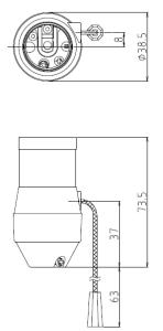 1号型プルソケット 図面