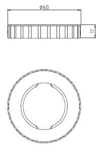 ホルダーリング 図面