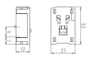 速結コネクター3型 図面